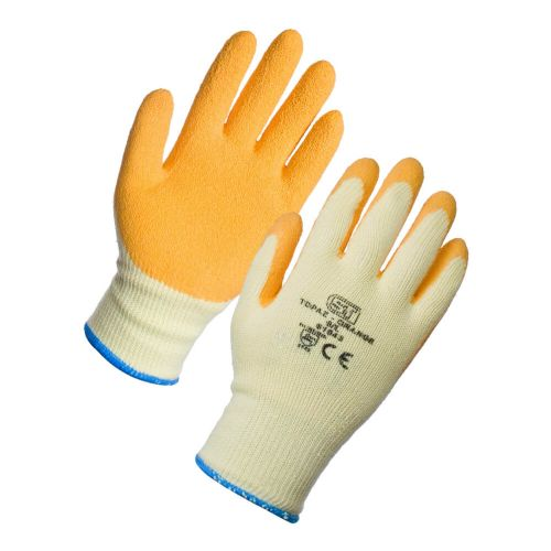 Supertouch Orange Topaz Grip Gloves - 120 Pairs